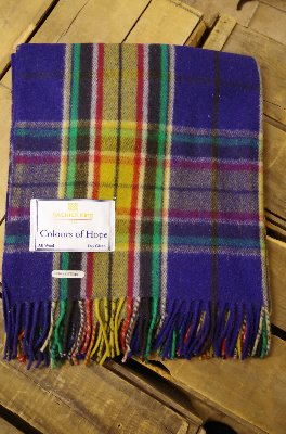Colours of Hope Tartan - Canadian Cancer Society